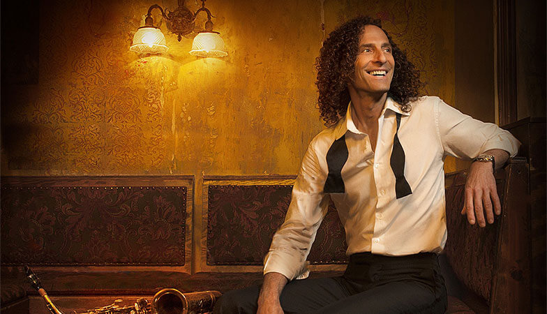 Kenny G with Saxophone