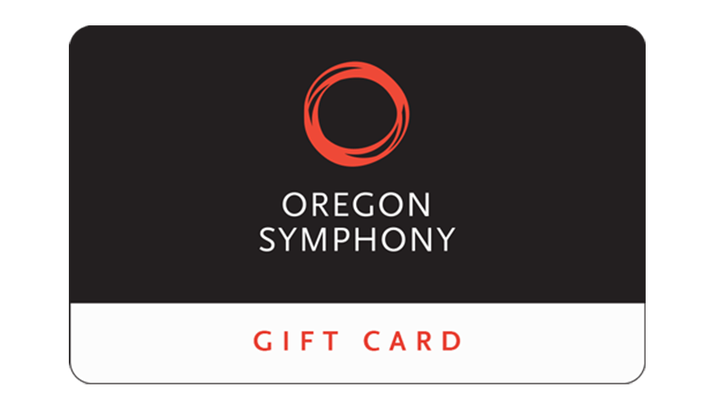 An Oregon Symphony gift card