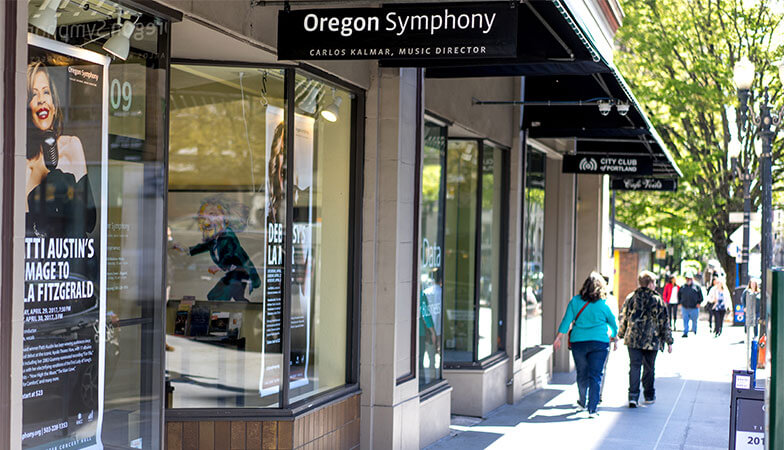 The Oregon Symphony Ticket Office