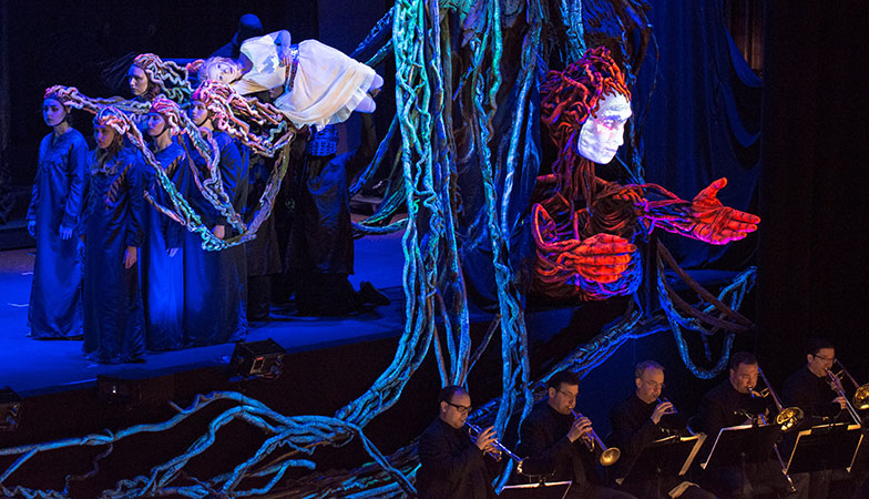 A production of Stravinsky's Persephone