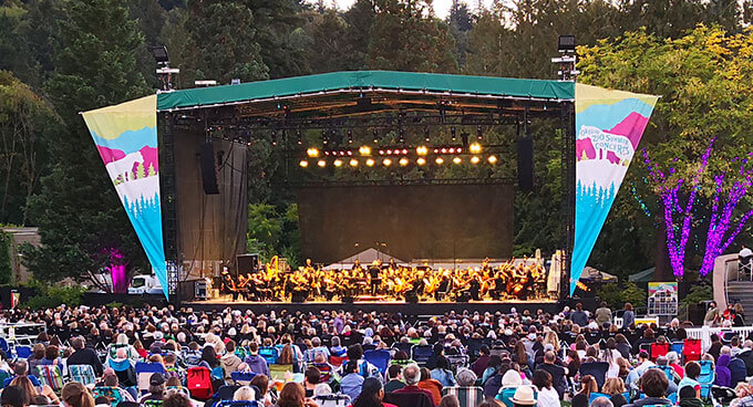 Oregon Symphony at the Zoo 2019