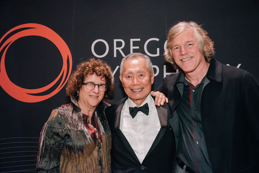 Guests and George Takei